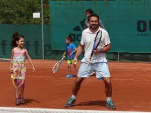 Tennis Kindertraining 2015