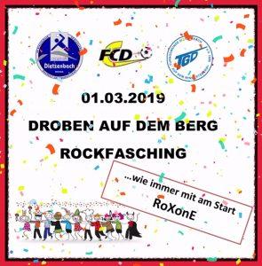 Droben auf dem Berg 2019 - Rockfasching